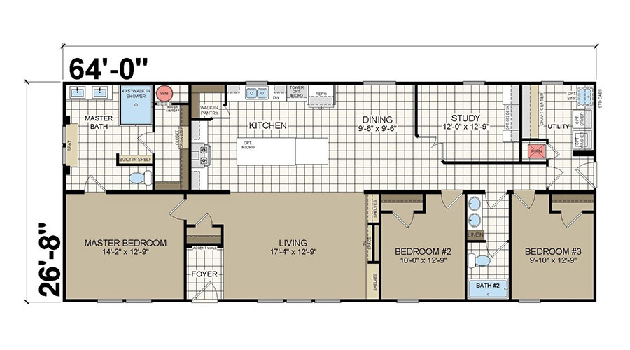 Fortune Summit Home Floor Plan