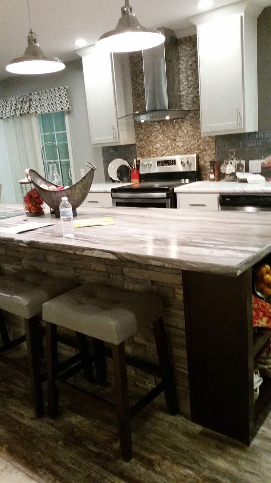 Kitchen Countertop Addition